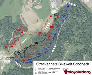 Trailmap Bikepark Bikewelt